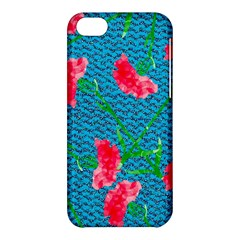 Carnations Apple Iphone 5c Hardshell Case by DanaeStudio