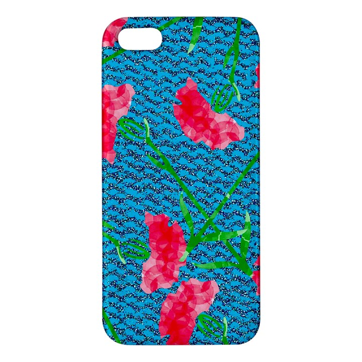Carnations iPhone 5S/ SE Premium Hardshell Case