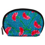 Carnations Accessory Pouches (Large)  Front