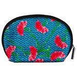 Carnations Accessory Pouches (Large)  Back