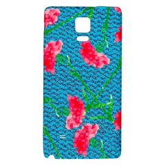 Carnations Galaxy Note 4 Back Case by DanaeStudio