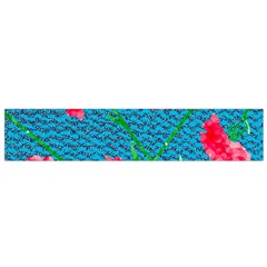 Carnations Flano Scarf (small)  by DanaeStudio