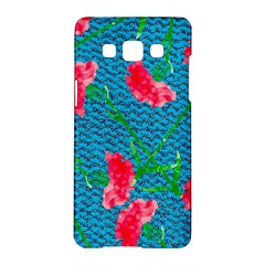 Carnations Samsung Galaxy A5 Hardshell Case  by DanaeStudio