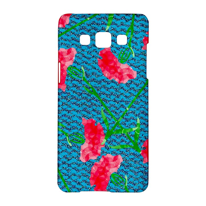 Carnations Samsung Galaxy A5 Hardshell Case