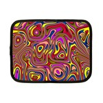 Abstract Shimmering Multicolor Swirly Netbook Case (Small)
