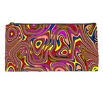 Abstract Shimmering Multicolor Swirly Pencil Cases