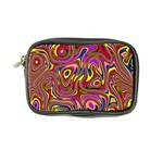 Abstract Shimmering Multicolor Swirly Coin Purse