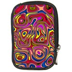 Abstract Shimmering Multicolor Swirly Compact Camera Cases