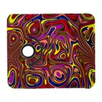 Abstract Shimmering Multicolor Swirly Samsung Galaxy S  III Flip 360 Case