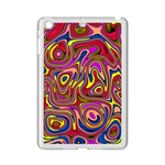 Abstract Shimmering Multicolor Swirly iPad Mini 2 Enamel Coated Cases
