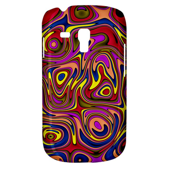 Abstract Shimmering Multicolor Swirly Samsung Galaxy S3 MINI I8190 Hardshell Case