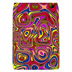 Abstract Shimmering Multicolor Swirly Flap Covers (L)