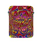 Abstract Shimmering Multicolor Swirly Apple iPad 2/3/4 Protective Soft Cases