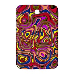 Abstract Shimmering Multicolor Swirly Samsung Galaxy Note 8 0 N5100 Hardshell Case