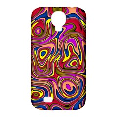 Abstract Shimmering Multicolor Swirly Samsung Galaxy S4 Classic Hardshell Case (PC+Silicone)