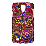 Abstract Shimmering Multicolor Swirly Galaxy S4 Active
