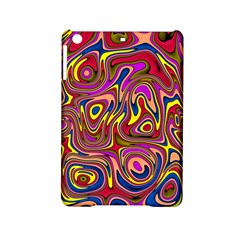 Abstract Shimmering Multicolor Swirly iPad Mini 2 Hardshell Cases