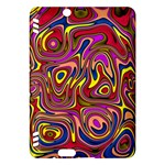 Abstract Shimmering Multicolor Swirly Kindle Fire HDX Hardshell Case