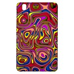 Abstract Shimmering Multicolor Swirly Samsung Galaxy Tab Pro 8.4 Hardshell Case