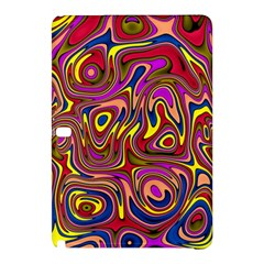 Abstract Shimmering Multicolor Swirly Samsung Galaxy Tab Pro 12 2 Hardshell Case by designworld65