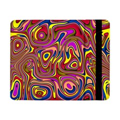 Abstract Shimmering Multicolor Swirly Samsung Galaxy Tab Pro 8.4  Flip Case