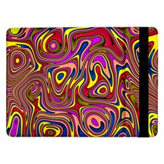 Abstract Shimmering Multicolor Swirly Samsung Galaxy Tab Pro 12.2  Flip Case