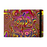 Abstract Shimmering Multicolor Swirly iPad Mini 2 Flip Cases