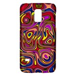 Abstract Shimmering Multicolor Swirly Galaxy S5 Mini