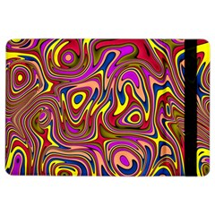 Abstract Shimmering Multicolor Swirly Ipad Air 2 Flip by designworld65