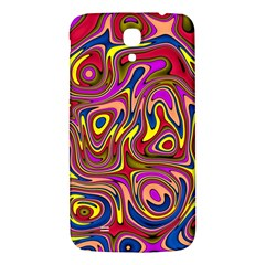 Abstract Shimmering Multicolor Swirly Samsung Galaxy Mega I9200 Hardshell Back Case