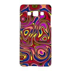 Abstract Shimmering Multicolor Swirly Samsung Galaxy A5 Hardshell Case  by designworld65