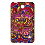 Abstract Shimmering Multicolor Swirly Samsung Galaxy Tab 4 (8 ) Hardshell Case