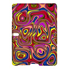 Abstract Shimmering Multicolor Swirly Samsung Galaxy Tab S (10.5 ) Hardshell Case