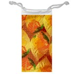 Fall Colors Leaves Pattern Jewelry Bags Front