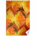 Fall Colors Leaves Pattern Canvas 20  x 30   30 x20 Canvas - 1