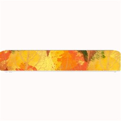 Fall Colors Leaves Pattern Small Bar Mats by DanaeStudio