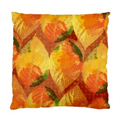 Fall Colors Leaves Pattern Standard Cushion Case (One Side)