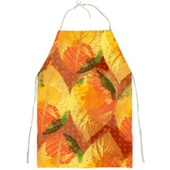 Fall Colors Leaves Pattern Full Print Aprons by DanaeStudio