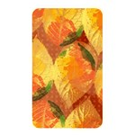 Fall Colors Leaves Pattern Memory Card Reader Front