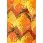 Fall Colors Leaves Pattern 5.5  x 8.5  Notebooks Front Cover Inside