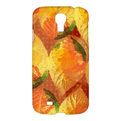 Fall Colors Leaves Pattern Samsung Galaxy S4 I9500/i9505 Hardshell Case