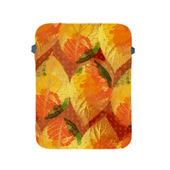 Fall Colors Leaves Pattern Apple Ipad 2/3/4 Protective Soft Cases by DanaeStudio