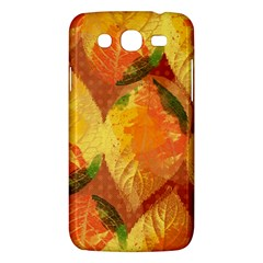 Fall Colors Leaves Pattern Samsung Galaxy Mega 5 8 I9152 Hardshell Case