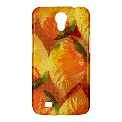 Fall Colors Leaves Pattern Samsung Galaxy Mega 6 3  I9200 Hardshell Case by DanaeStudio