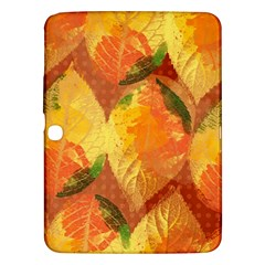 Fall Colors Leaves Pattern Samsung Galaxy Tab 3 (10 1 ) P5200 Hardshell Case