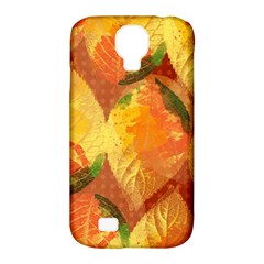 Fall Colors Leaves Pattern Samsung Galaxy S4 Classic Hardshell Case (pc+silicone) by DanaeStudio