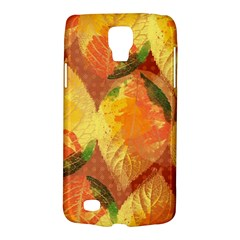 Fall Colors Leaves Pattern Galaxy S4 Active by DanaeStudio
