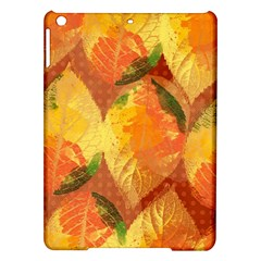 Fall Colors Leaves Pattern Ipad Air Hardshell Cases by DanaeStudio