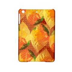 Fall Colors Leaves Pattern Ipad Mini 2 Hardshell Cases by DanaeStudio