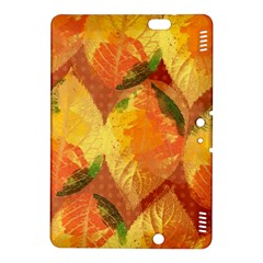 Fall Colors Leaves Pattern Kindle Fire Hdx 8 9  Hardshell Case by DanaeStudio
